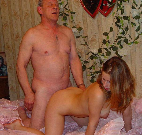 домашнее порно дед